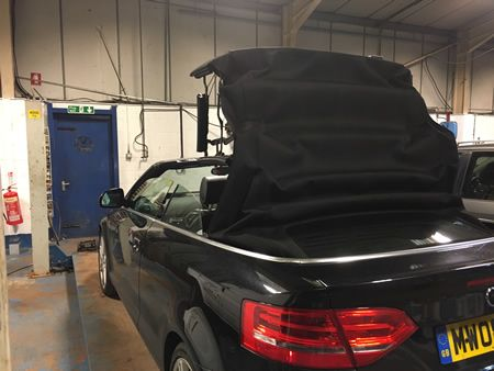 Audi A3 Cabriolet Soft Top Repairs 3