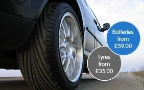 Tyres and Batteries for VW, Audi, SEAT and Skoda