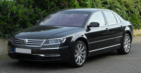 Specialist in the VW Phaeton